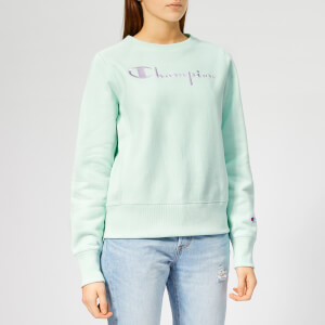 Champion Women's Crewneck Sweatshirt - Green