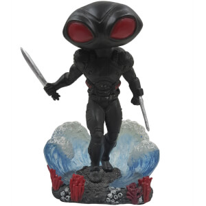 Statua Bobble di Black Manta, DC Comics, FOCO - 10 cm