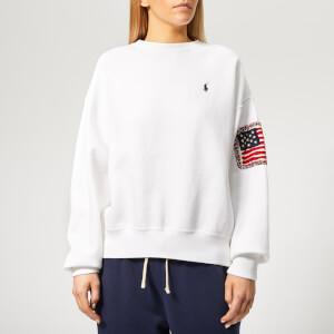 Polo Ralph Lauren Women's Relaxed Polo Sweatshirt - White