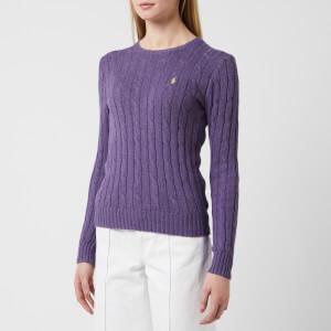 Polo Ralph Lauren Women's Julianna Sweater - Inkberry Heather