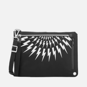 Neil Barrett Men's Sacoche Bag - Black/White