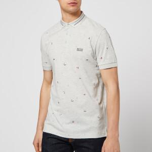 BOSS Men's Paddy 7 Polo Shirt - Grey