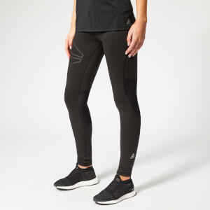 Reebok Women's OSR Reflect Running Tights - Black