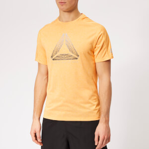 Reebok Men's OSR Reflect Move Running T-Shirt - Yellow