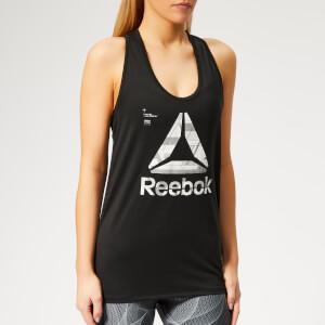 Reebok Women's Activchill Graphic Tank Top - Black