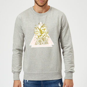 Barlena Pineapple Sweatshirt - Grey