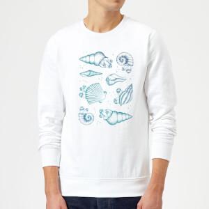 Barlena Ocean Gems Sweatshirt - White