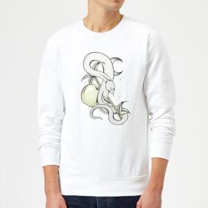 Barlena Forbidden Fruit Sweatshirt - White