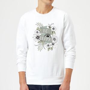 Barlena No Drama Sweatshirt - White