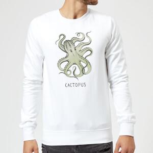 Barlena Cactopus Sweatshirt - White