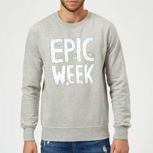 Barlena Epic Week Sweatshirt - Grey