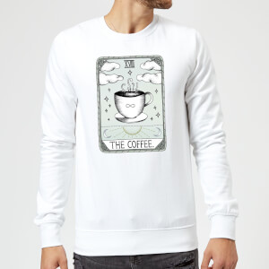Barlena The Coffee Sweatshirt - White