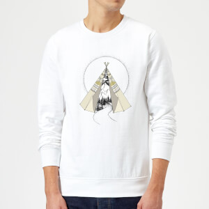 Barlena Into The Wild Sweatshirt - White