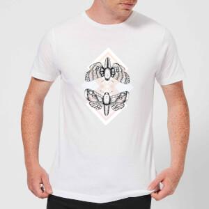 Barlena Moth Men's T-Shirt - White