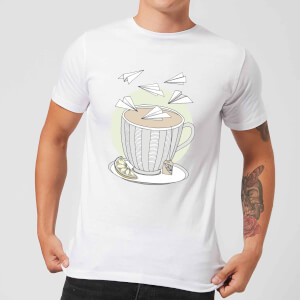 Barlena Teatime Men's T-Shirt - White