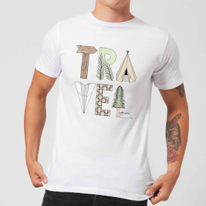 Barlena Travel Men's T-Shirt - White