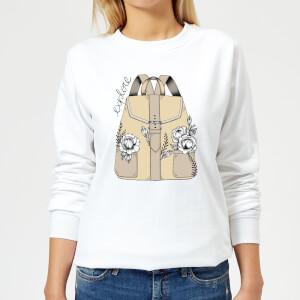 Barlena Explore Women's Sweatshirt - White