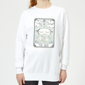 Barlena The Nap Women's Sweatshirt - White
