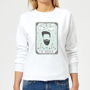Barlena The Hipster Women's Sweatshirt - White