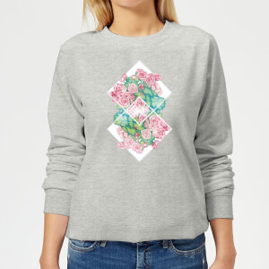 Barlena Flowers Women's Sweatshirt - Grey