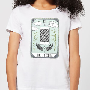 Barlena The Phone Women's T-Shirt - White