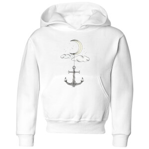 Barlena Anchor Your Dreams Kids' Hoodie - White