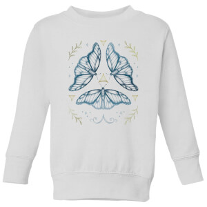Barlena Fairy Dance Kids' Sweatshirt - White