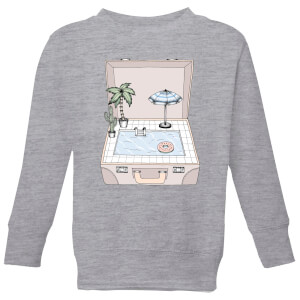 Pool To Go Kids' Sweatshirt - Grey