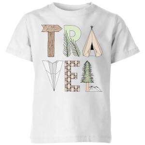 Travel Kids' T-Shirt - White