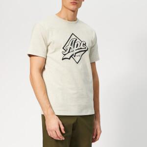 A.P.C. Men's Gabriel T-Shirt - Ecru