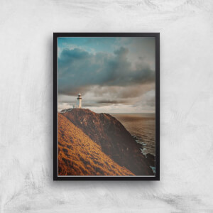 Liam Burleigh Lighthouse Art Print