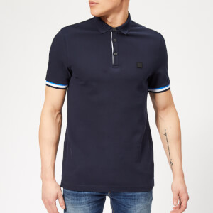 c91bc1fc BOSS Men's Printcat Polo Shirt - Navy