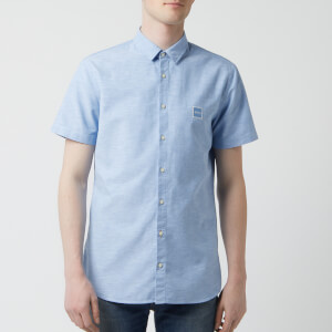BOSS Hugo Boss Men's Magenton Shirt - Sky Blue