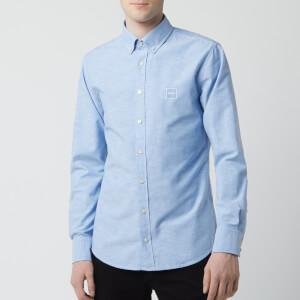 BOSS Men's Mabsoot Shirt - Sky Blue