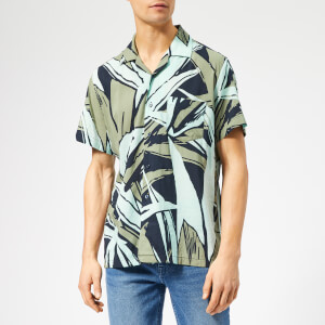 BOSS Men's Rhythm Shirt - Navy