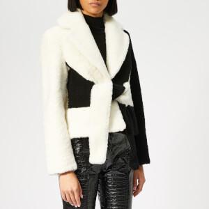 Saks Potts Women's Wrapis Jacket - Black/White