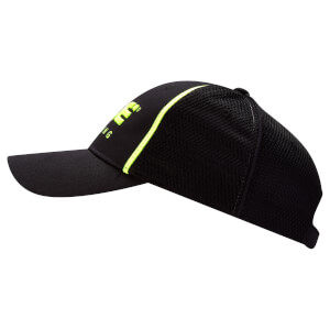 Alé Podio 2.0 Cap - Black/Fluo Yellow