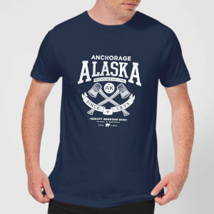 Alaska Men's T-Shirt - Navy