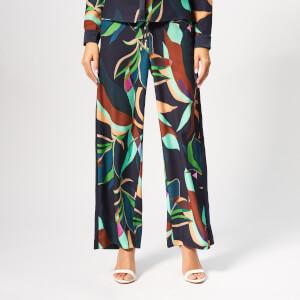 Ted Baker Women's Glooria Supernatural Wide Leg Trousers - Navy