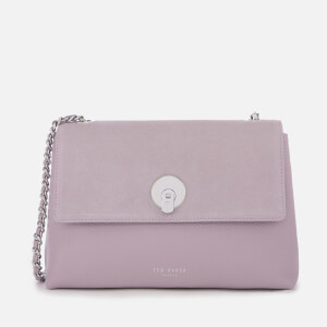 Ted Baker Women's Sylvana Circle Lock Cross Body Bag - Light Purple