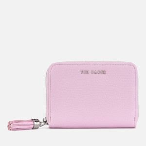 Ted Baker Women's Sabel Tassel Zip Around Purse - Light Purple
