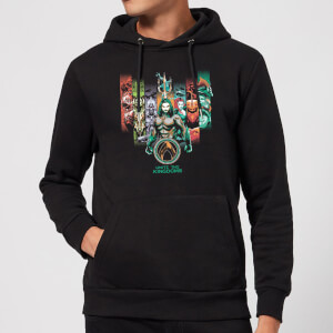 Aquaman Unite The Kingdoms Hoodie - Black