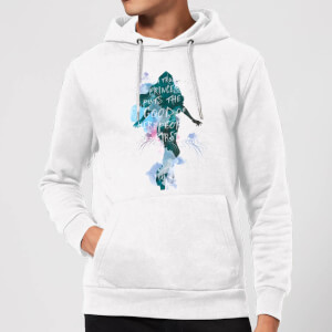 Aquaman Mera True Princess Hoodie - White