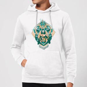 Aquaman Seven Kingdoms Hoodie - White