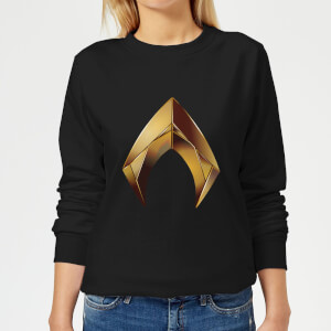 Aquaman Symbol Women's Sweatshirt - Black