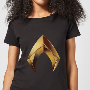 Aquaman Symbol Women's T-Shirt - Black