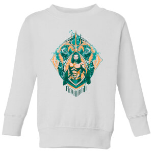 Aquaman Seven Kingdoms Kids' Sweatshirt - White