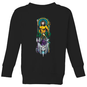 Aquaman and Ocean Master Kids' Sweatshirt - Black
