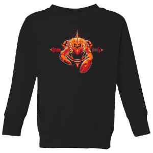Aquaman Brine King Kids' Sweatshirt - Black