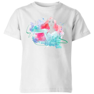 Aquaman Mera First Princess Kids' T-Shirt - White